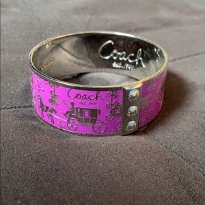 Coach Purple Bracelet